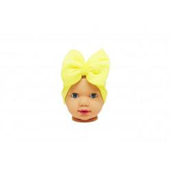 Baby Turban Headband, Yellow